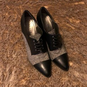 Guess by Marciano 9m heels. Black and Grey